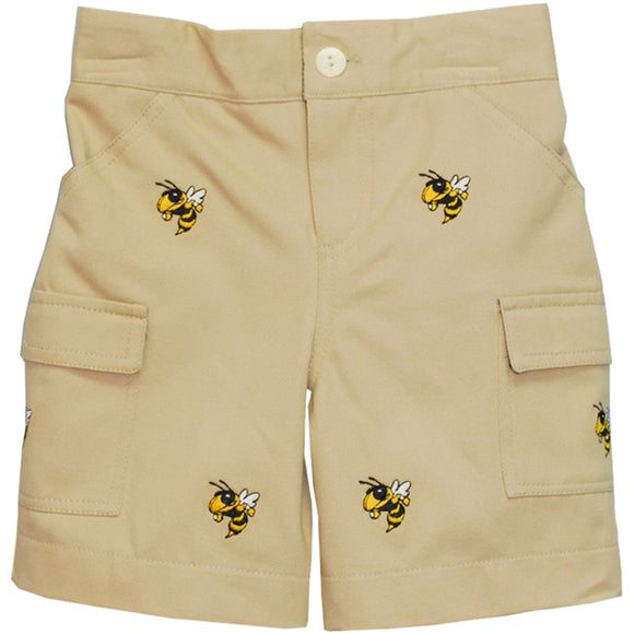 Embroidered Georgia Tech Short