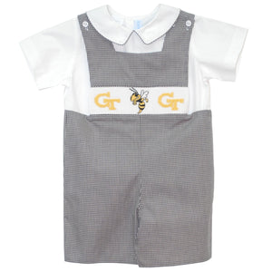 Smocked Georgia Tech Jon Jon