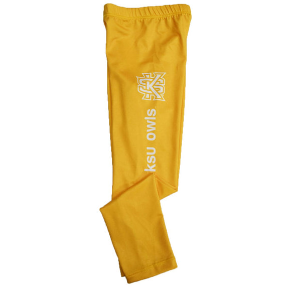 Kennesaw State University Solid Gold Leggings