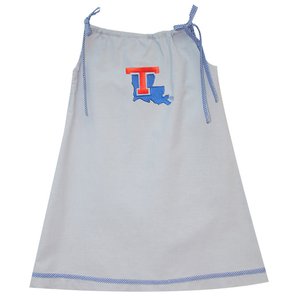 Louisiana Tech A Line Dress