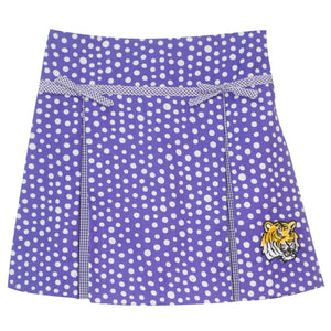 Louisiana Pleated Polka Dots Skirt