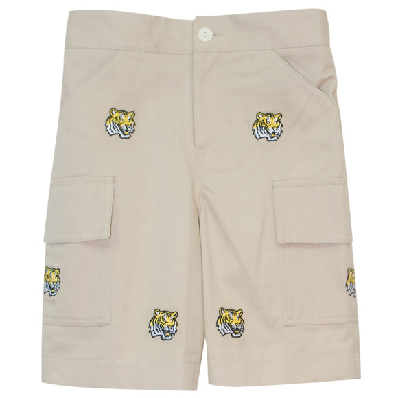 Embroidered Louisiana Short
