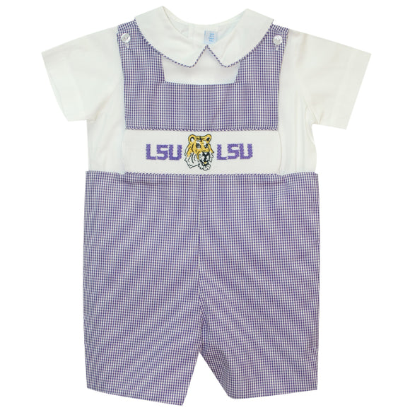 Smocked LSU Jon Jon