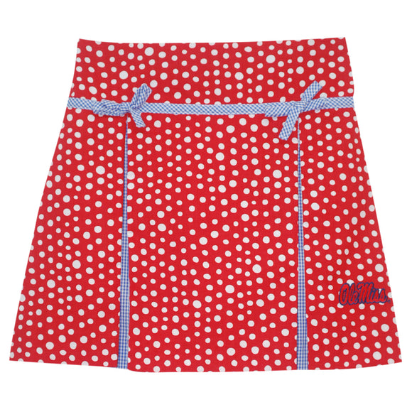 Mississippi Pleated Polka Dots Skirt