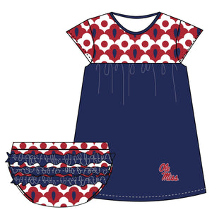 Mississippi Cap Sleeve Dress and Bloomer