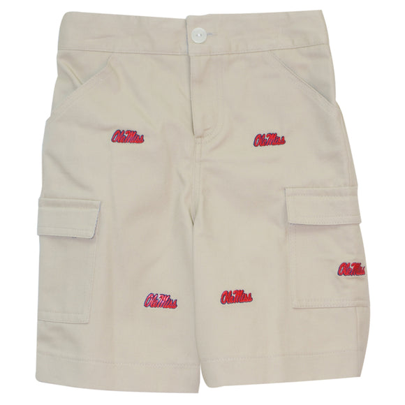 Embroidered Mississippi Short