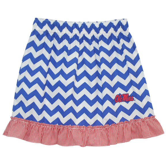 Mississippi Ruffle Chevron Skirt