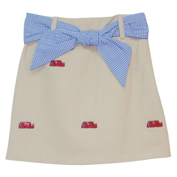 Embroidered Mississippi Skort