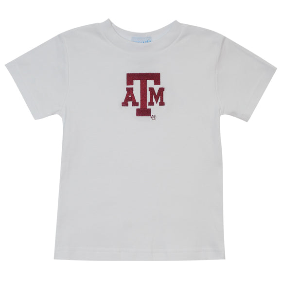 Embroidered Texas AM Tee Shirt