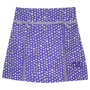 TCU Pleated Polka Dots Skirt