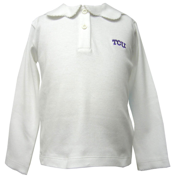 Embroidered TCU Knit Pico Blouse