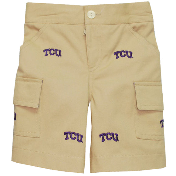 Embroidered TCU Short
