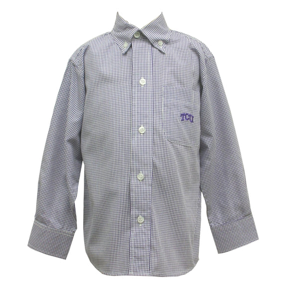 TCU Button Down Shirt