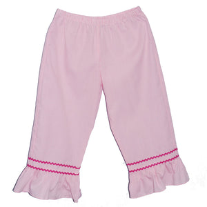 Pink Ck Girls Ruffle Pants
