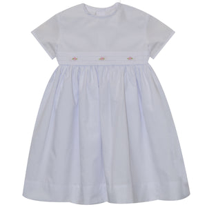 White Dress Short Sleeve