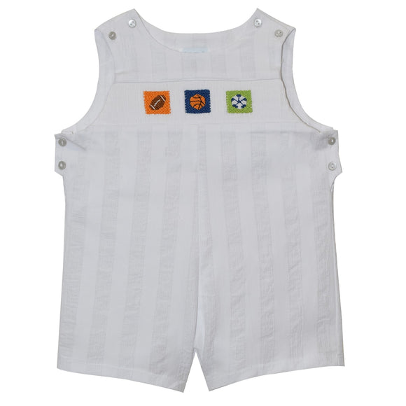 Sports Balls Smocked Shortall