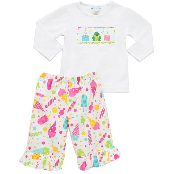 Birthday Girl's Pant Set