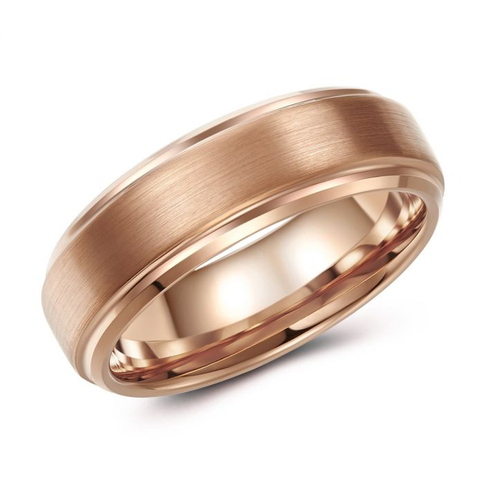 Rose Tungsten Ring