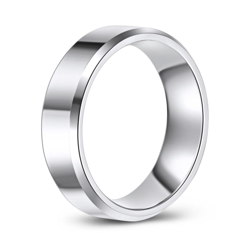 High Polish Finish Cobalt Ring (6.5mm)