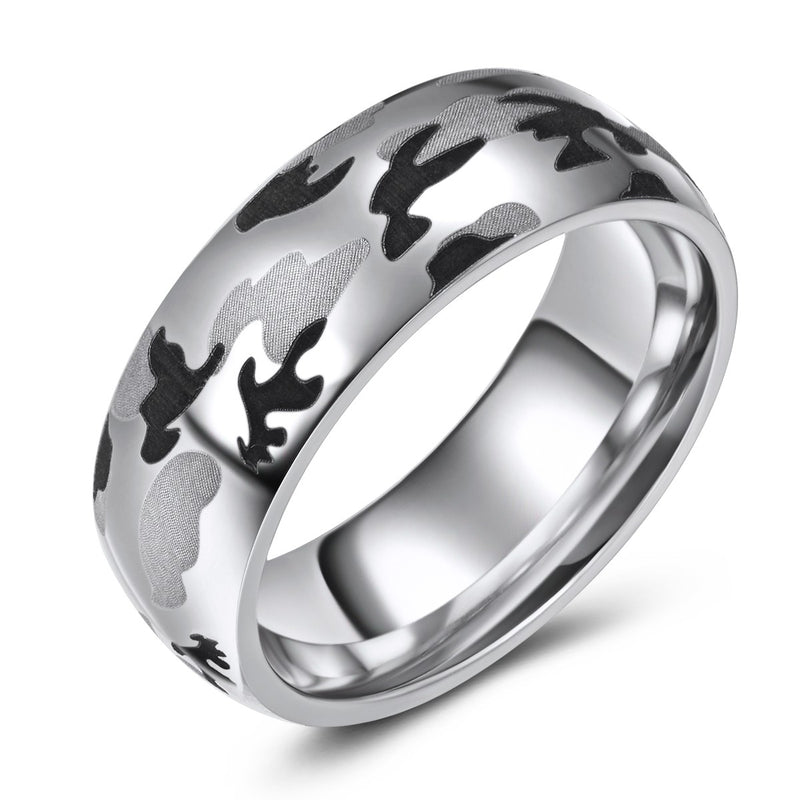 Cobalt Military Camo Band (8mm)