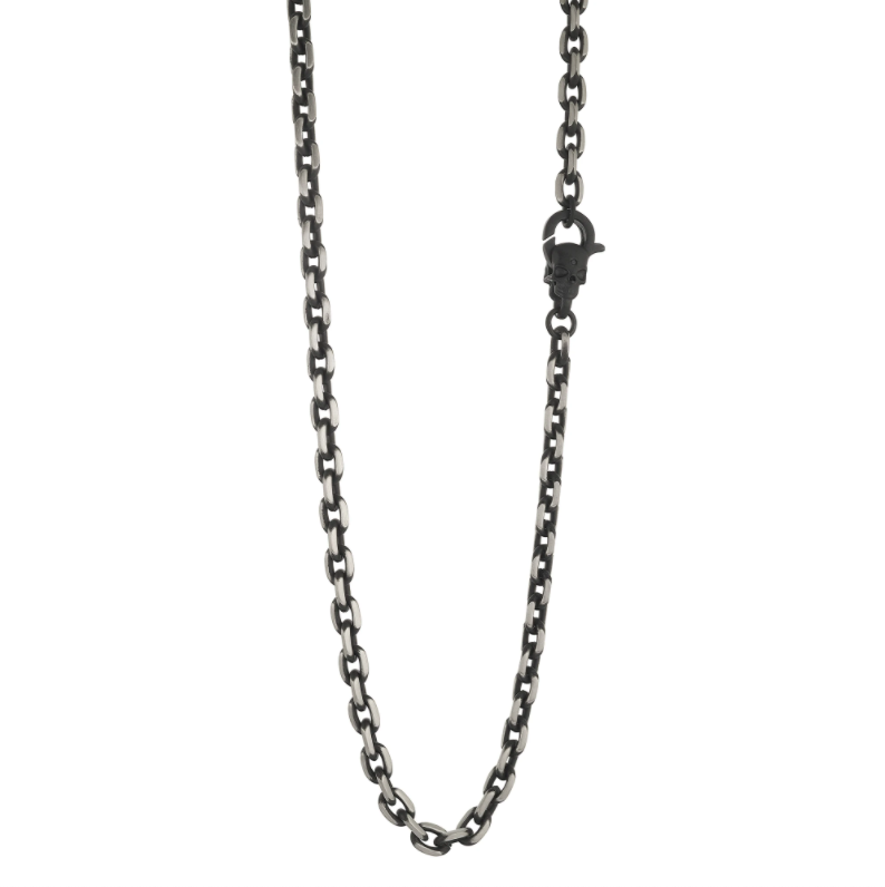 Morta Clasp Black IP Chain