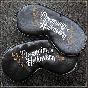 Dreaming of Halloween Sleep Mask