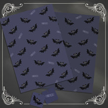 Load image into Gallery viewer, Fangtastic Bat Gift Wrap