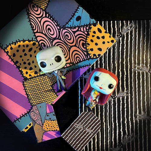 Jack and Sally Gift Wrap