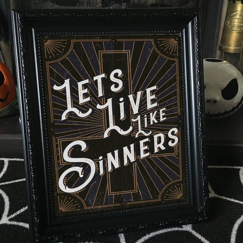 Let's Live Like Sinners