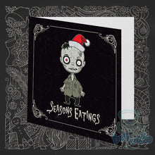 Load image into Gallery viewer, Set of 8 Creepmas Cards