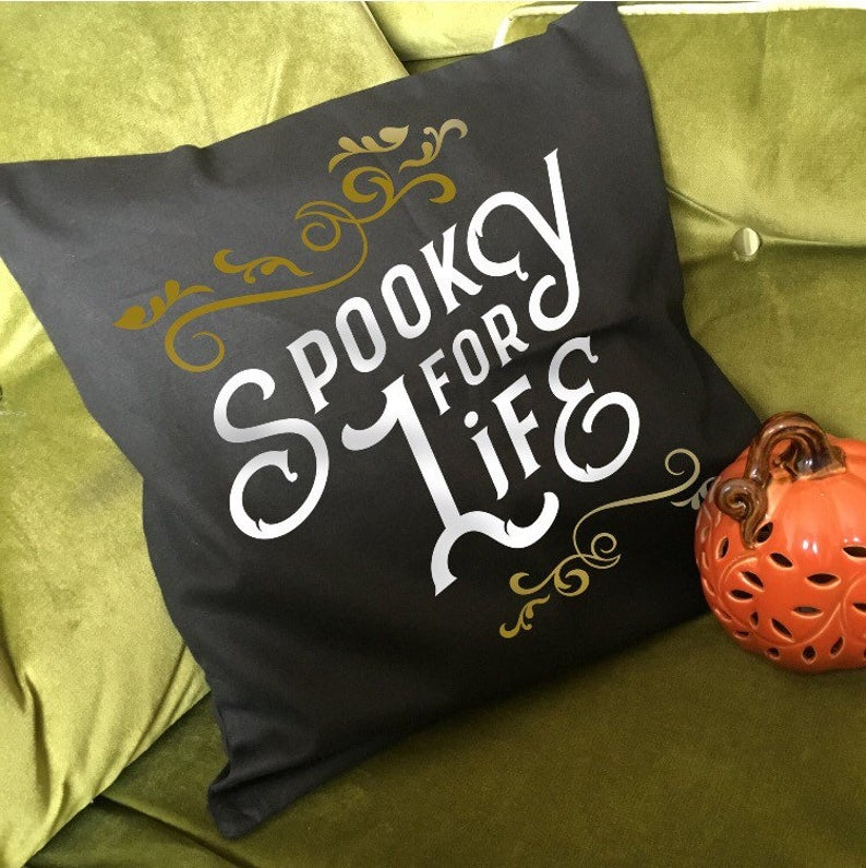 Spooky For Life Cushion