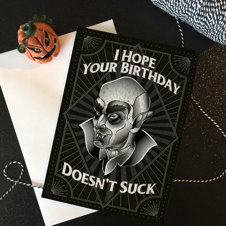 Hope Your Birthday Doesn't Suck