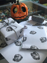 Load image into Gallery viewer, Sugar Skull Love Gift Wrap