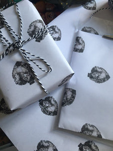 Sugar Skull Love Gift Wrap
