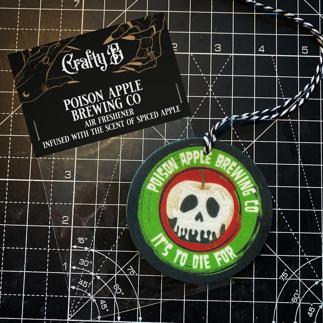 Poison Apple Brewing Co Air Freshener