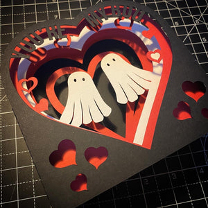 3D You're My Boo  Card - Little Ghosts