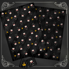 Load image into Gallery viewer, Vampire Teddy and Ducky Gift Wrap