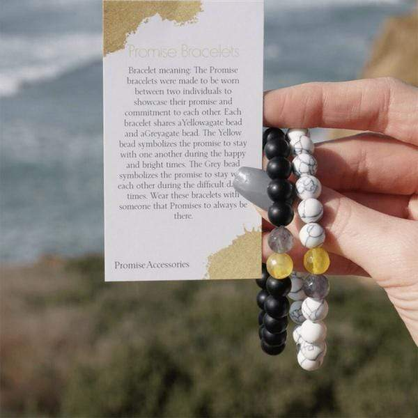 Pair of Promise Bracelets