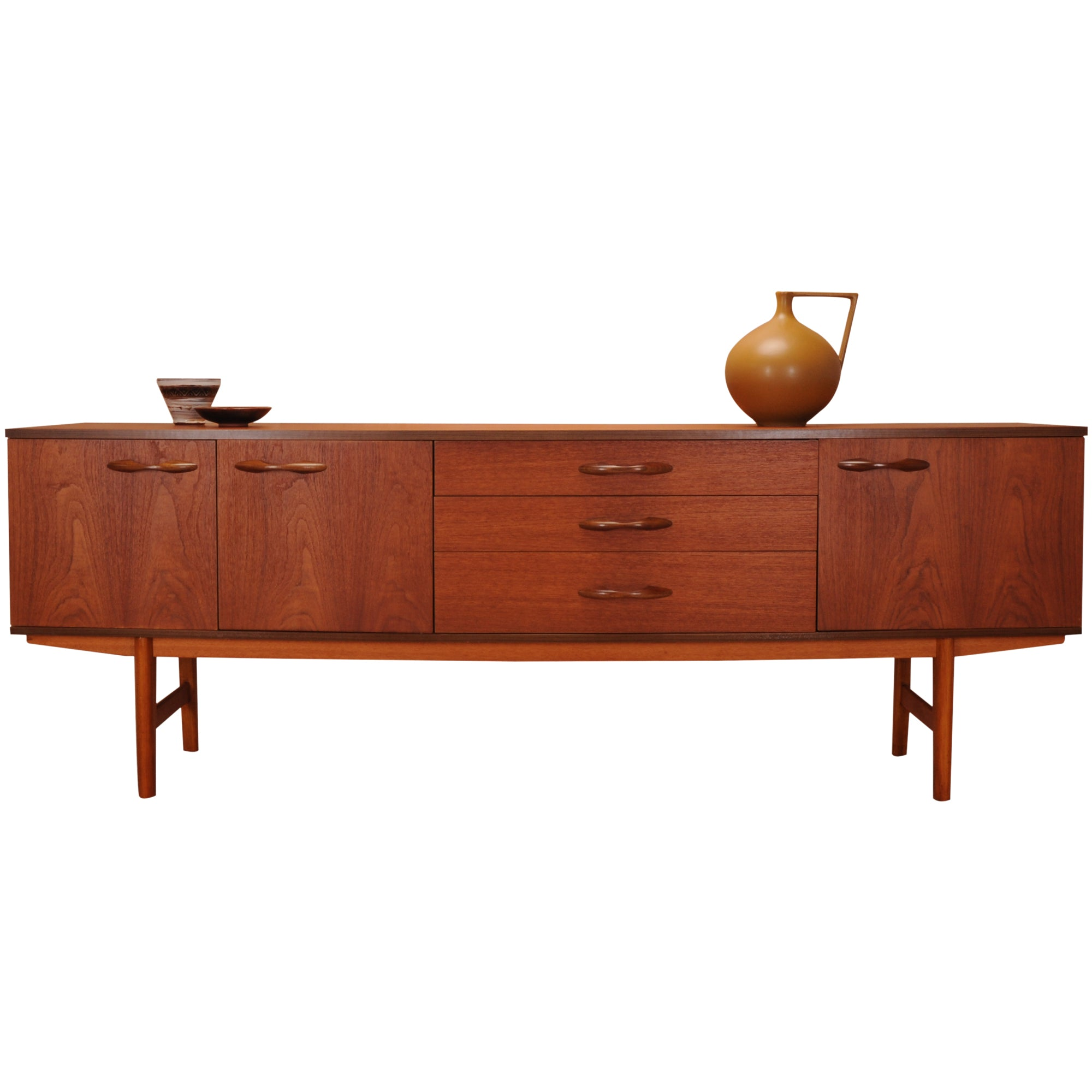 1960s Teak Avalon Long John Sideboard