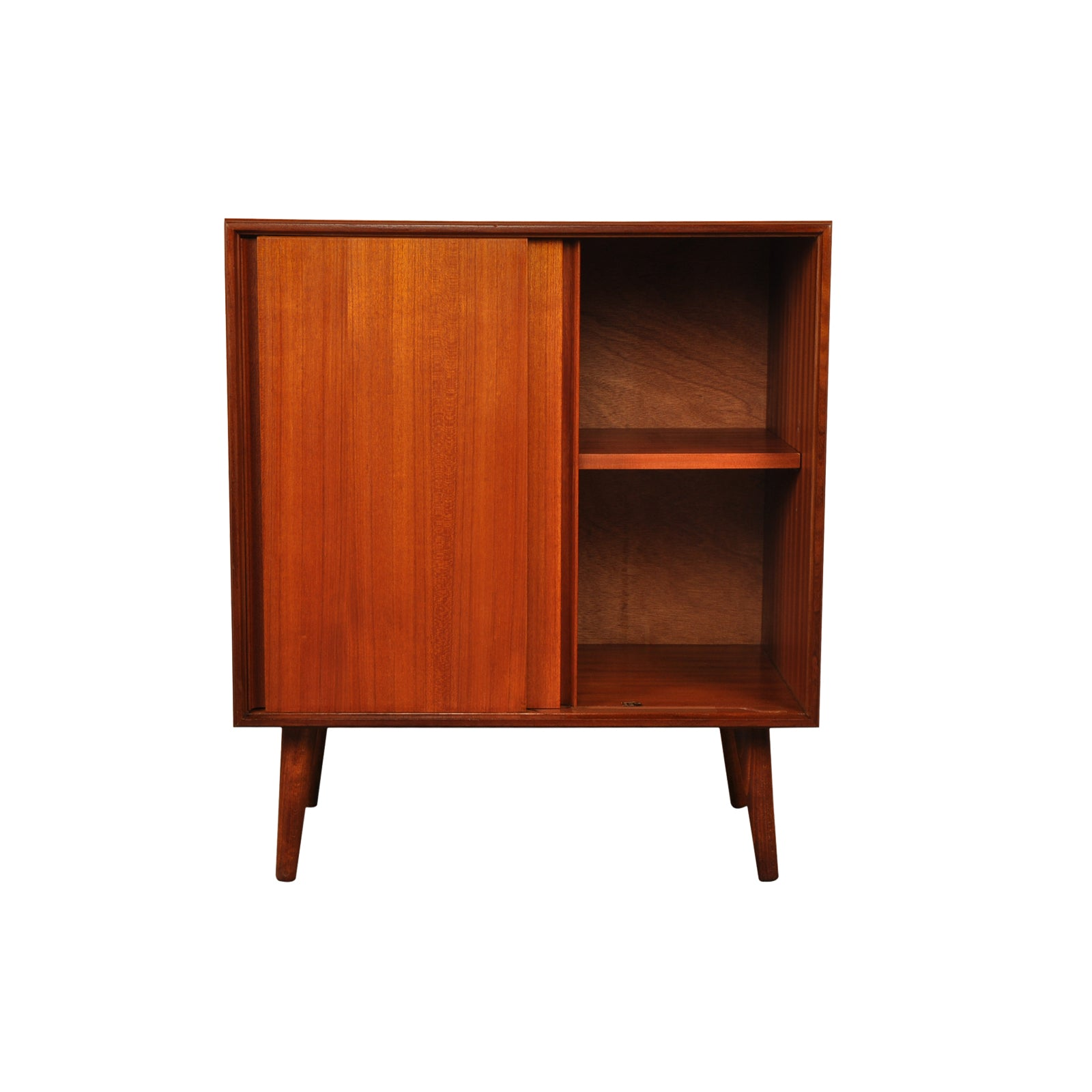 G-Plan 1960s Form Five Tall Cabinet on tapered legs