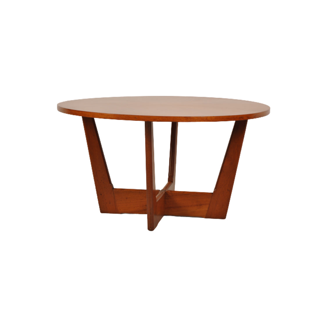 Teak Starburst Low Coffee Table by Soren Holger Georg Jensen for Kubus