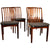 Danish Sven Aage Madsen Dining Chairs, Set of 4. Grey reupholstered wool and teak