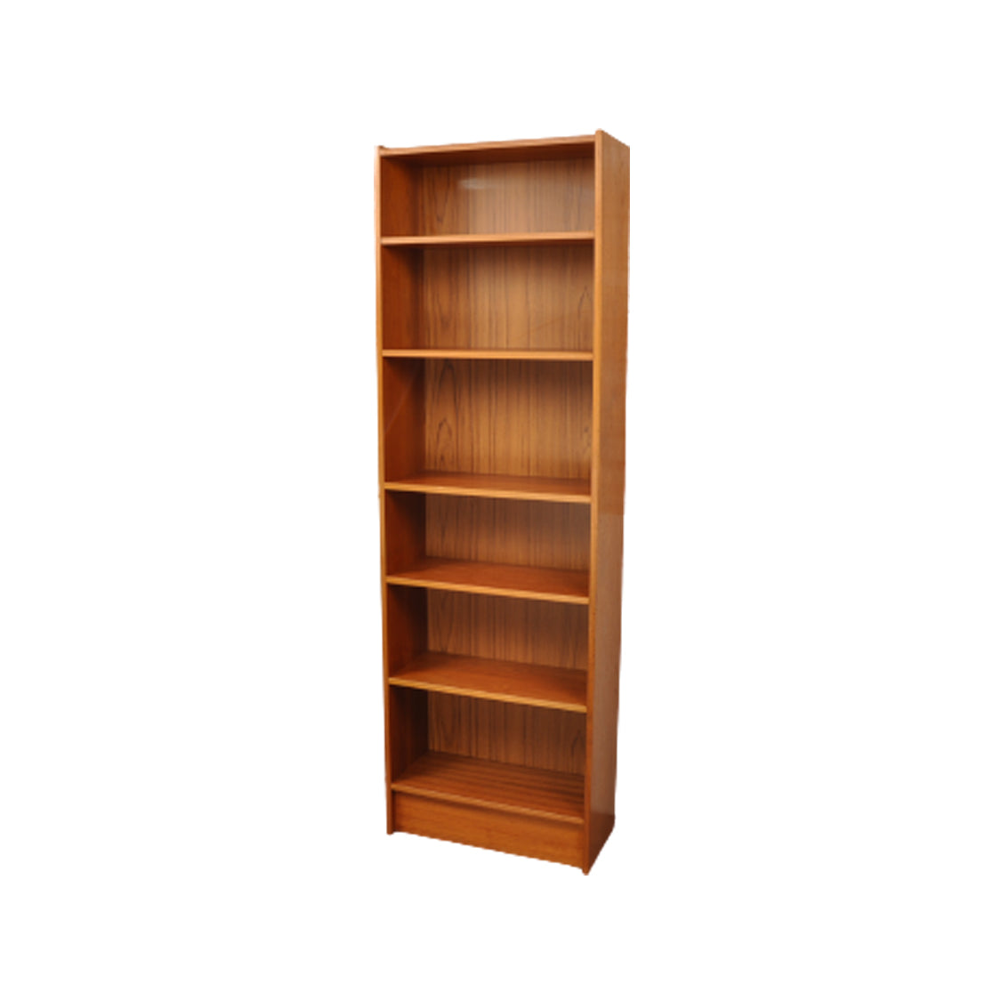 Tall Mid Century Danish teak bookcase