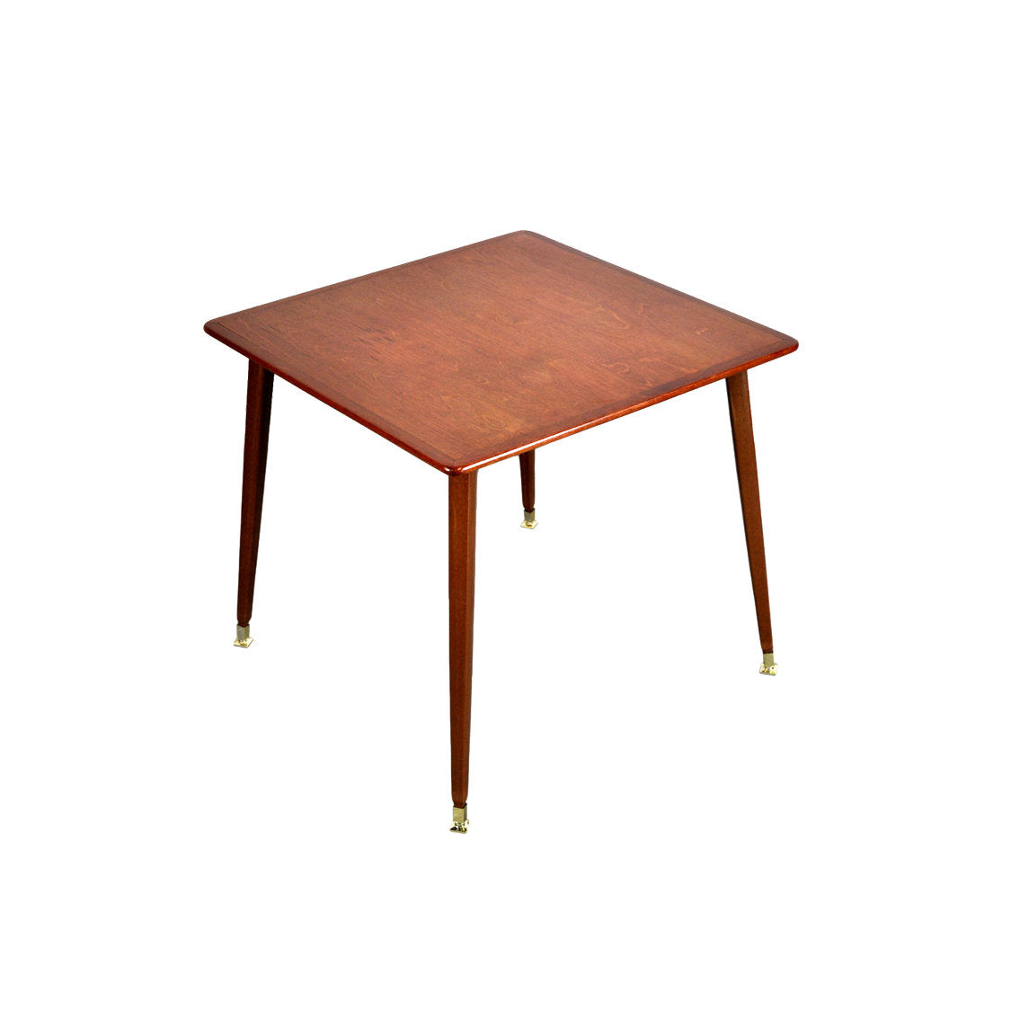Teak Atomic Occasional Table with Sputnik Legs - AndersBrowne Mid Century Furniture