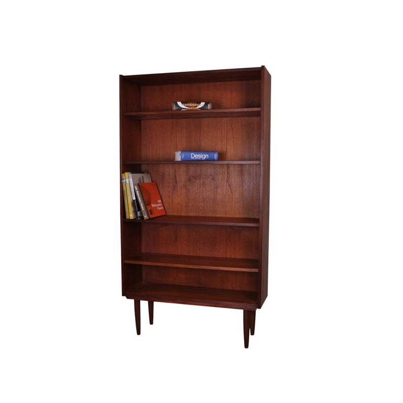 1960's Mid Century Modern Teak Bookcase available at AndersBrowne Ltd