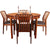 Dining Set with 4 Danish Sven Aage Madsen Dining Chairs and Troeds Extendable Table,