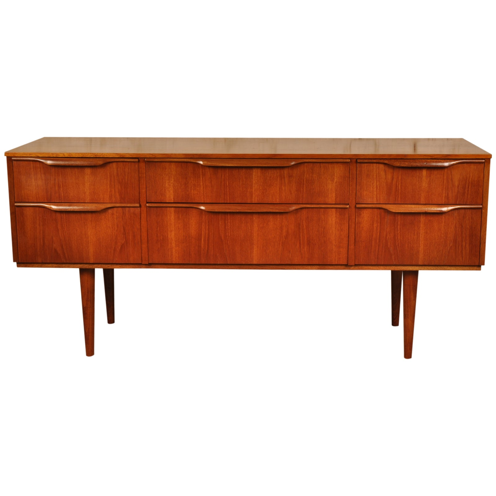 Mid Century Selecta Sideboard / Drawers by Austinsuite, 1960s in teak and afromosia