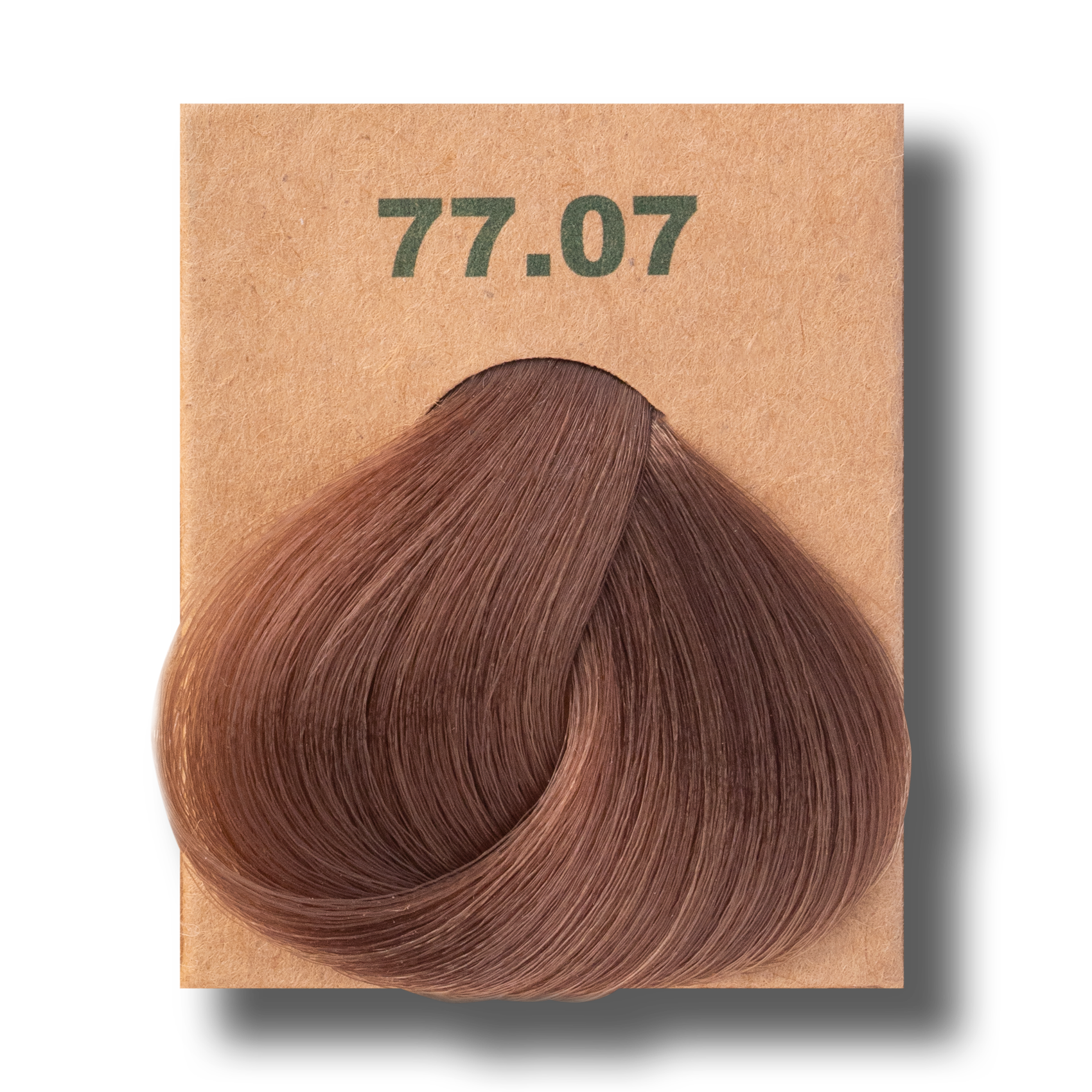 Vopsea de par  fara amoniac BioMagic 77.07 Natural Brown Blonde
