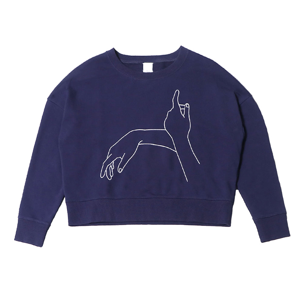 futureclassics merce sweatshirt navy