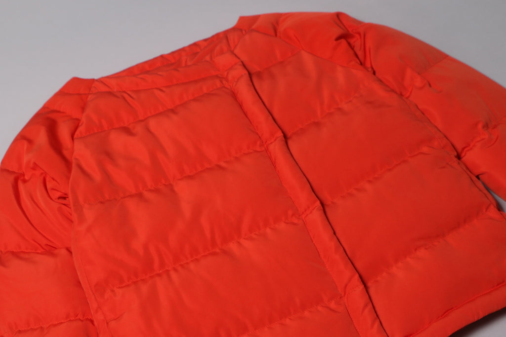 futureclassics moira down jacket orange